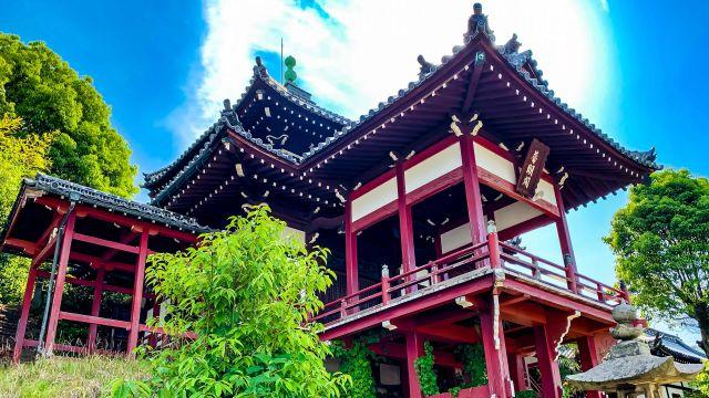 西方寺 普明閣